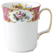 Royal Albert Lady Carlyle Beaker Mug Floral w/Gold Trim New