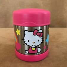 Hello Kitty stainless steel lunch thermos pink food 10 oz storage Sanrio bottle
