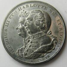 Great Britain_King George III & Charlotte_ Jubilee medal_1809