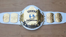 WWF Winged Eagle Wrestling Championship 4mm Metal Replica Adult Belt with Bag