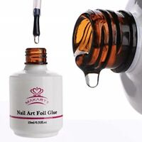 Foil Glue Gel Stickers Nail Transfer Tips For Manicure Nail Art