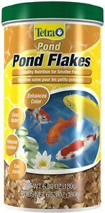 Tetra Pond Flakes 6.35 oz
