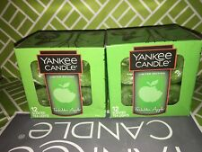 2x Forbidden Apple Yankee Candle Tea Lights Tealights Halloween Limited Edition