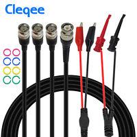 BNC Test Lead Kit for Oscilloscope Probe Alligator Clip Minigrabber Cable Wire