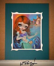 2016 Jasmine Becket Griffith Disney Little Mermaid Ariel WonderGround Dlx Print