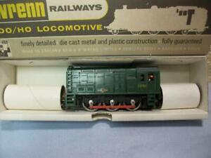 Class 08 0-6-0 Diesel Loco D3763 BR Green Wrenn No W2231 '00' Boxed, Project