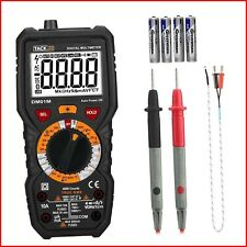Multimeter, Tacklife DM01M Electrical Tester True RMS 6000 Counts Advanced Meter