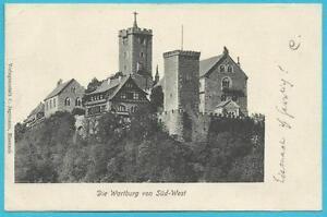Postkarte bedarfsmäßig und portorichtig frankiert und mit Bahnpost 1904