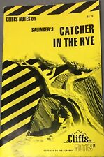 Salinger's the Catcher in the Rye - Cliffs Notes - Very Good - Cliff Note Study