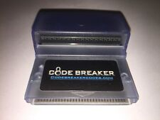 GameShark Action Replay Code Breaker GBA with Cheat Codes TESTED