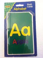 """Fun Logic Children Flash Card 5 1/4"""" Tall Alphabet Connected By A Chain"""