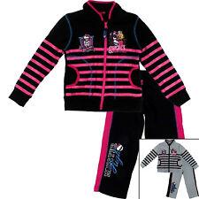 Kids Girls Disney MONSTER HIGH Tracksuit Sportswear Jogging Suits 4 6 8 10 12YRS
