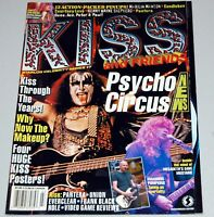 KISS And Friends Psycho Circus Starlog Magazine 1998 w/ 4 Poster Set Gene Ace