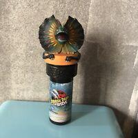 Universal Studios Hollywood Jurassic Park Ride 1997 Cup & Topper Dilophosaurus