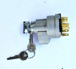 55 56 1955 1956 Chevrolet 210 Bel Air Nomad Ignition Switch & Lock w/ 2 GM Keys