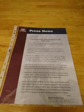 2000 Hyundai XG30 Press Release