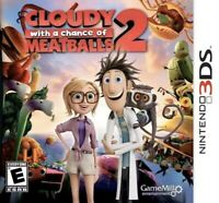 Cloudy With a Chance of Meatballs 2 Nintendo 3DS Kids Game