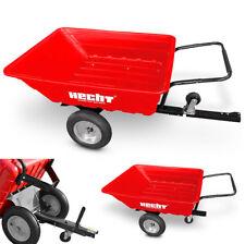 Hecht 53080 Kippanhänger Anhänger Schubkarre kippbar Rasenmäheranhänger ATV Quad