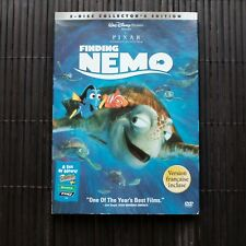 FINDING NEMO  - DISNEY/PIXAR  - 2 DVD -  COLLECTOR'S EDITION (made in US)