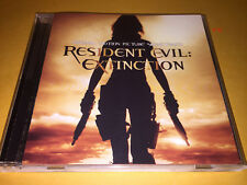 RESIDENT EVIL EXTINCTION soundtrack CD charlie clouser shadows fall chimaira