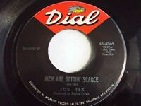 Joe Tex Men Are Gettin' Scarce / You're Gonna Thank Me Woman 45 Vinyl Record