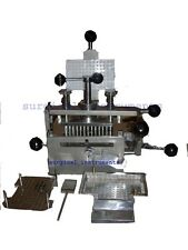 Capsule Filling Machine Hand Operated - Pharmaceutical Machinery - Pill Press