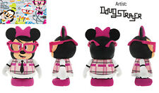 "Minnie Mouse Nerd 3"" Vinylmation NEW Theme Park Favorites Series Open Box Bow"