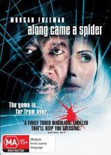 ALONG CAME A SPIDER NEW DVD Morgan Freeman Monica Potter Michael Moriarty