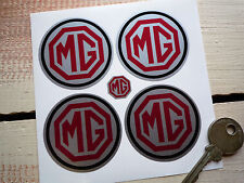 MG Wheel Centre Style Stickers 50mm MG A B C ZT ZA TF TD Magnette Rally Race Car