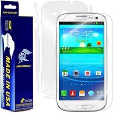 ArmorSuit MilitaryShield Samsung Galaxy S3 Screen Protector + Full Body Skin NEW