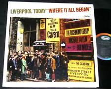 LIVERPOOL TODAY Where it All Began LP RARE Brit Rock EARL PRESTON REALMS