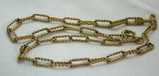 Lovely 9 Carat Gold Twisted Link Choker Necklace