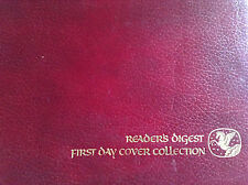 READERS DIGEST: FIRST DAY COVER COLLECTION W/CLASSIC STAMPS FROM 1980-1981