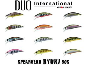 DUO Spearhead Ryuki 50S Sinking Minnow Lure - Select Color(s)