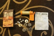 Action's Vintage 1984 Cookie Shooter Press As Seen On TV With Box & Instructions