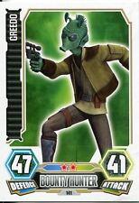 Star Wars Force Attax Series 3 Card #141 Greedo