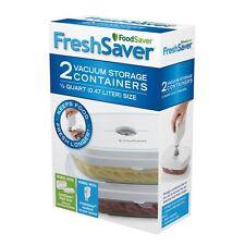 FoodSaver FreshSaver Deli Deli Containers 2 Pack