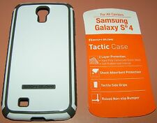 Body Glove Tactic case Samsung Galaxy S4, High Gloss White/Gray color, new