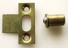 "Ball Catch Brass 8mm 5/16"" brass striking plate Cupboard Caravan UK see details"