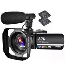 Digital Life 2.7k Camcorder High Definition Vlogging Camera