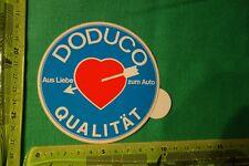 Alter Aufkleber Aus Liebe zum Auto DODUCO Qualität