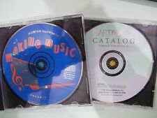 LOT OF 2 MORTON SUBOTNICK'S MAKING MUSIC & ARTBEATS CATALOG CR-ROM (DR1G2)