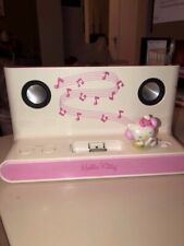 Collectible Hello Kitty Pink/Wht Charging Dock Speaker Older Generation iPhone