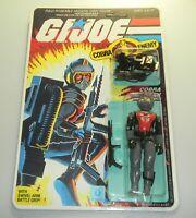 *RECARDED* 1985 GI Joe Cobra EELS Figure Complete Sealed *CUSTOM File Card Back*