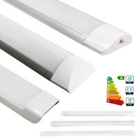 4FT 1200mm Suspension Tubo a LED Batten BARRA plafonnier Plafond Blanc 36W 65W