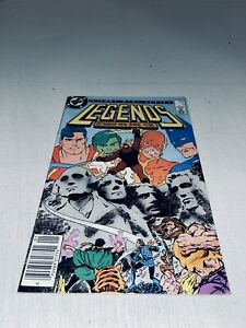 Legends #3 1st App New suicide Squad (DC 1987) VF New Movie