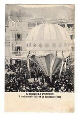 C003899  san  marcello  pistoiese  sagra  del  pallone  animata    VG  1910