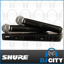 BLX288SM58 Shure Wireless Dual Handheld Microphone System Vocal Speech Presenter