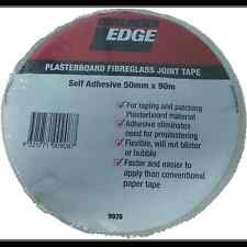 Builders Edge PLASTERBOARD FIBREGLASS JOINT TAPE Self Adhesive 50mmx90m