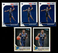 5 Lot 2019-20 Panini NBA Hoops Donruss Zion Williamson Rookie #258 RC Pelicans